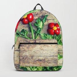 Pepper flowers (23) Backpack