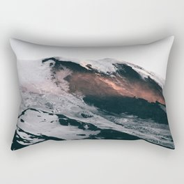 Mount Rainier VII Rectangular Pillow