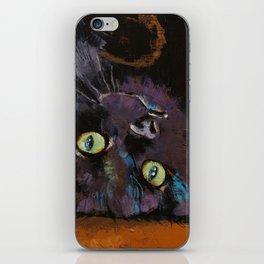 Upside Down Kitten iPhone Skin