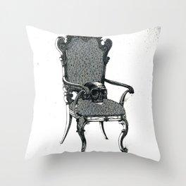 Usurper The V. Throw Pillow