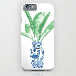 Ginger Jar + Bird of Paradise iPhone Case