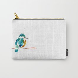 Golden Kingfisher Carry-All Pouch