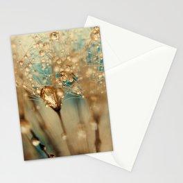 dandelion gold Stationery Cards