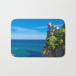 Spectacularly Special Fairytale Castle Swallow's Nest Crimea Ukraine Europe Ultra HD Bath Mat