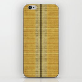 """""""Simple Oriental Curtains (Light Yellow)"""" iPhone Skin"""