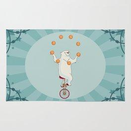 Circus bear Rug