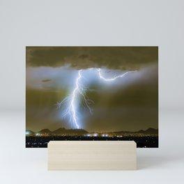Into the Arizona Monsoon Evening Mini Art Print
