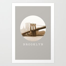 BROOKLYN / New York City Art Print