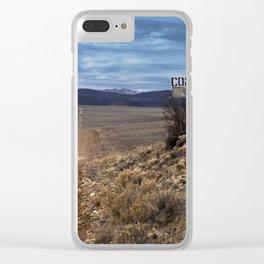 Comanche Trail Clear iPhone Case