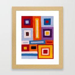Built environment Framed Art Print