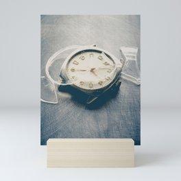 Smashed Wrist Watch Mini Art Print