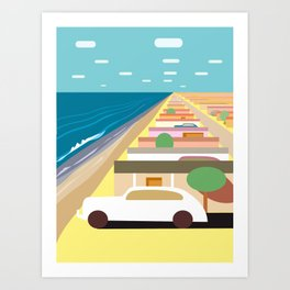 Imperial Beach 2 Art Print