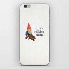 Walking Cliché iPhone & iPod Skin