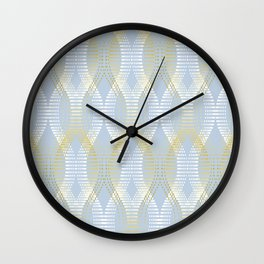 Staccato Blue Wall Clock