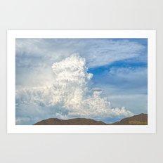Sonoran Steam Art Print