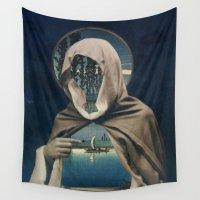 sailor Wall Tapestries featuring SAILOR by Julia Lillard Art