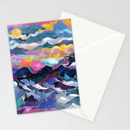 Montain Sunrise Stationery Cards