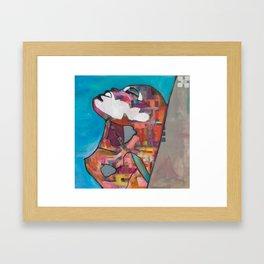Pop art CB 1 - Come Closer Framed Art Print