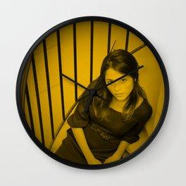 Stephanie Leonidas Wall Clock