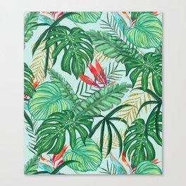 The Tropics ||| #illustration #tropical Canvas Print