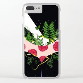 Sinner Clear iPhone Case
