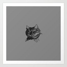 Cat Zzz 2 Art Print
