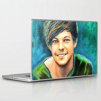 peter pan Laptop & iPad Skins featuring Peter Pan by art-changes