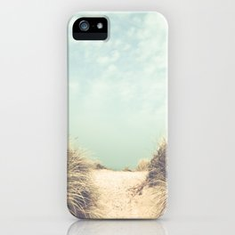 The Way To The Beach iPhone Case