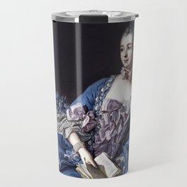 Madame De Pompadour Travel Mug