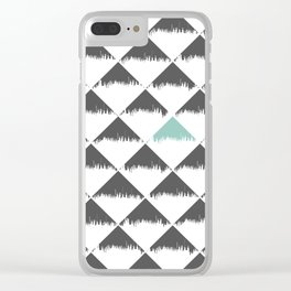 Nordic Pattern 20 Clear iPhone Case