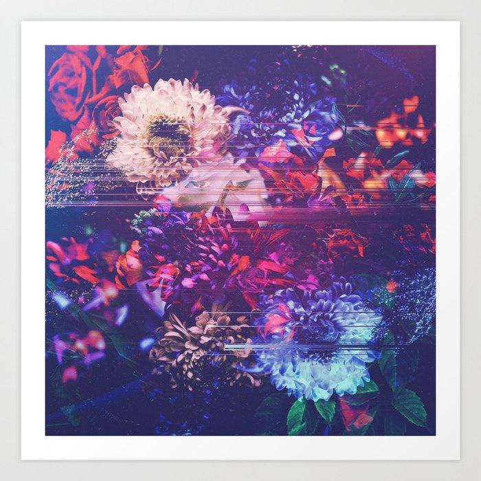 Algorithm of empathy Art Print