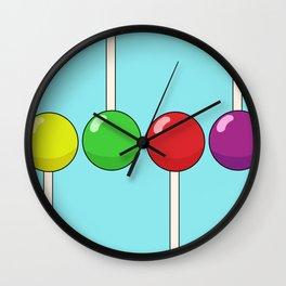 Lollipop Pattern Wall Clock