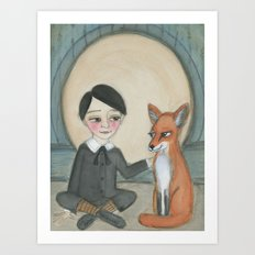 Billy and the Fox Art Print