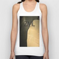 tomb raider Tank Tops featuring Tomb by ZML Zealous Modern Living