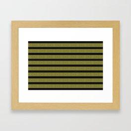 Black sun sibling Framed Art Print