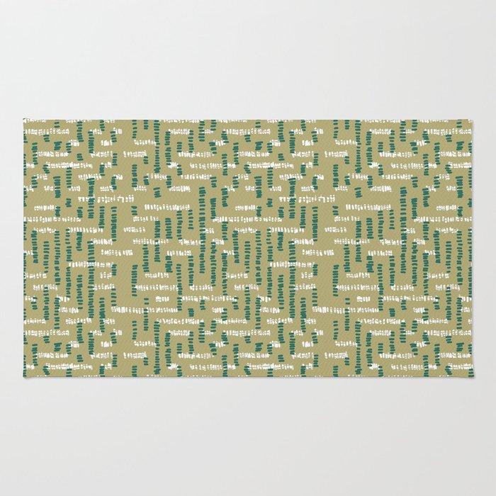 Tribal Maze Rug