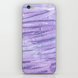 Soap abstract watercolor iPhone Skin