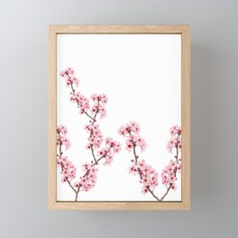 Cherry Blossoms Framed Mini Art Print