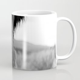 Scottish Highland Cattle Baby - Black and White Animal Photography Coffee Mug