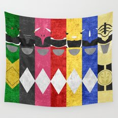 Mighty Morphin Power Rangers Wall Tapestry
