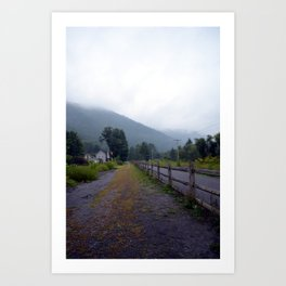 Slate Run, PA Art Print