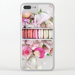 Macarons Clear iPhone Case