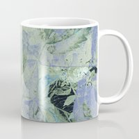 transparent Mugs featuring transparent flowers by clemm