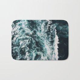 Green Seas, Yes Please Bath Mat