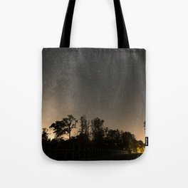 Milky high way Tote Bag