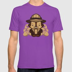 Hello Chip Ultraviolet MEDIUM Mens Fitted Tee