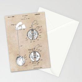patent art Zopf Yo-Yo 1969 Stationery Cards