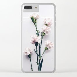 Claveles Free Clear iPhone Case
