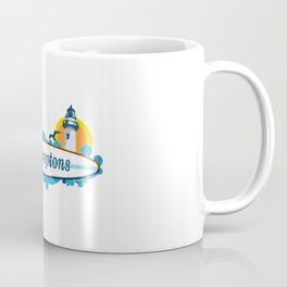 The Hamptons - Long Island. Coffee Mug
