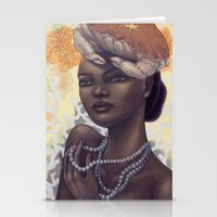 cancer Stationery Cards featuring Cancer by Artist Andrea